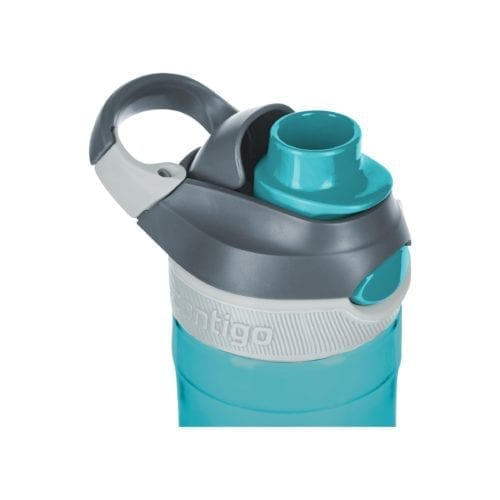 Promotional Contigo Autospout Chug Bottles Light Blue Open Cap