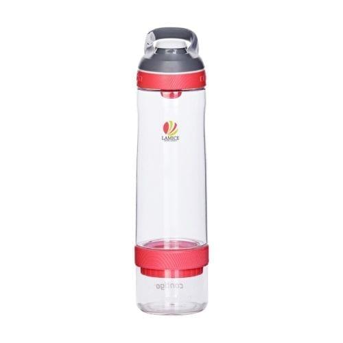 Promotional Contigo Cortland Infuser Bottles Branded Red
