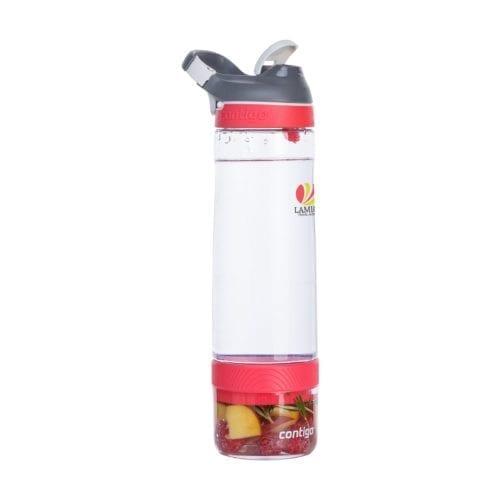 Promotional Contigo Cortland Infuser Bottles Branded Red Side