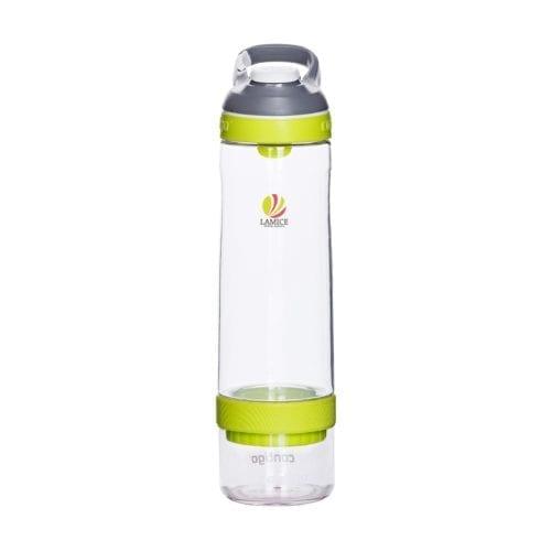 Promotional Contigo Cortland Infuser Bottles Branded Yellow