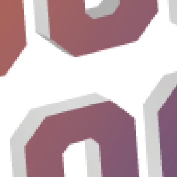 Closeup of raster graphics
