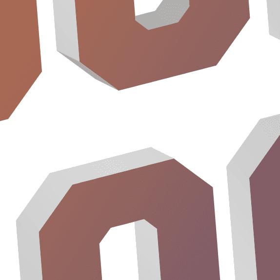 Vector graphics close up