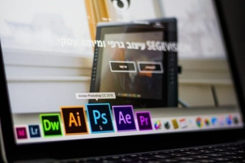 Mac laptop with Adobe CC suite