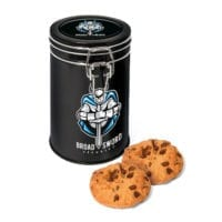 Flip Top Tin – Black – Maryland Cookies