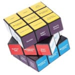 Promotional Rubiks Branded with Logo