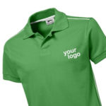 promotional womens polo shirts branded with logo