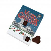 Large Advent Calendar – Dark Vegan Chocolate Discs