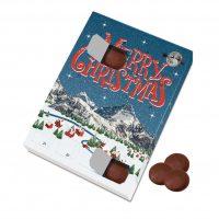 Large Advent Calendar – Milk Chocolate Discs